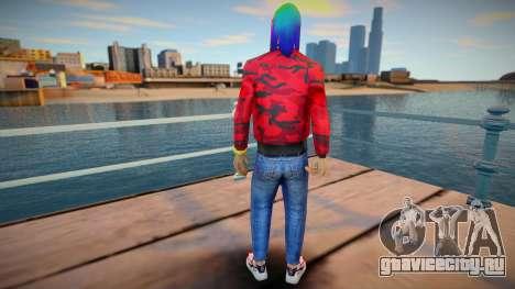 6ix9ine для GTA San Andreas