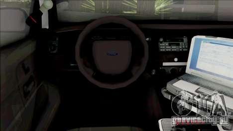 Ford Crown Victoria 1998 CVPI LAPD v2 для GTA San Andreas