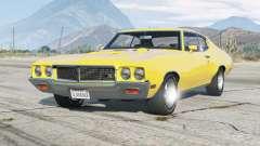 Buick GSX hardtop coupe 1970 v1.1 для GTA 5