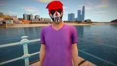 Чувак в гриме из GTA Online для GTA San Andreas