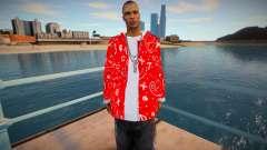 Bloodz red jacket для GTA San Andreas