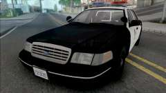 Ford Crown Victoria 1998 CVPI LAPD для GTA San Andreas