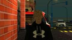 Отличный скин - Парень Кирилл для GTA San Andreas