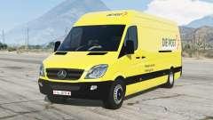 Mercedes-Benz Sprinter 313 CDI LWB (Br.906) 2011〡Die Post для GTA 5