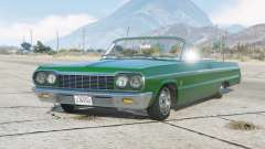 Chevrolet Impala SS 409 convertible 1964 для GTA 5