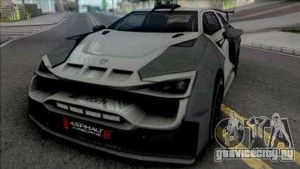 Sbarro Sparta для GTA San Andreas