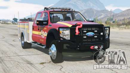 Ford F-450 Super Duty Crew Cab Utility Fire Truck 2013 для GTA 5