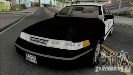 Ford Crown Victoria 1997 CVPI LAPD GND для GTA San Andreas