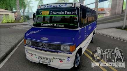 Mercedes-Benz LO-814 Cuatro Ases Leyenda для GTA San Andreas