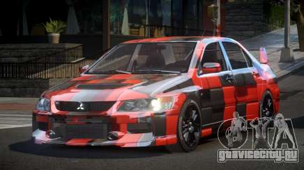 Mitsubishi Evo IX BS-U S1 для GTA 4