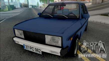 Tofas Murat 131 (CMS 40 Rims) для GTA San Andreas