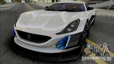 Rimac Concept S для GTA San Andreas