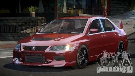 Mitsubishi Evo IX BS-U для GTA 4