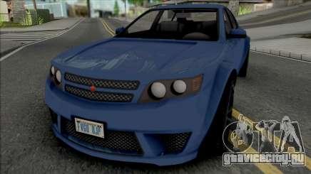 Cheval Fugitive [SA Plate] для GTA San Andreas
