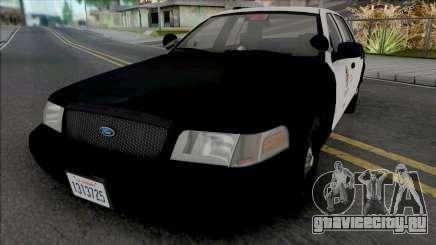Ford Crown Victoria 2011 CVPI LAPD GND для GTA San Andreas