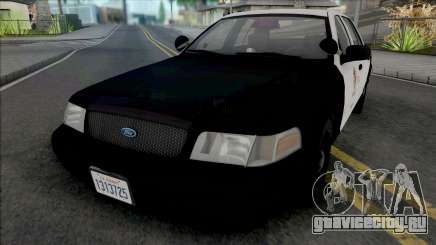 Ford Crown Victoria 2000 CVPI LAPD GND для GTA San Andreas