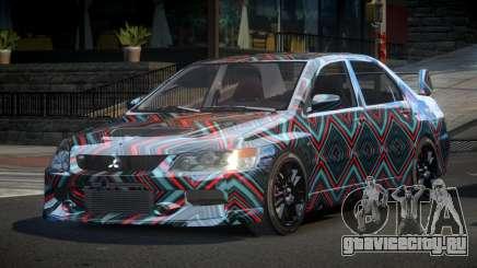 Mitsubishi Evo IX BS-U S2 для GTA 4