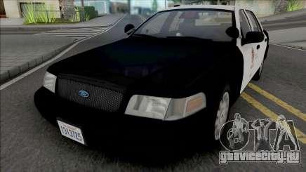 Ford Crown Victoria 2007 CVPI LAPD GND v3 для GTA San Andreas