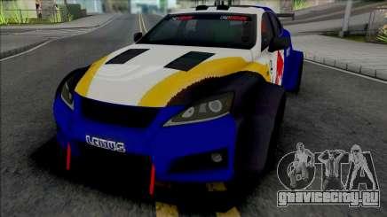 Lexus IS F 2009 [HQ] для GTA San Andreas