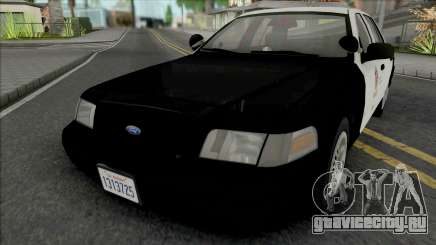 Ford Crown Victoria 1999 CVPI LAPD GND v2 для GTA San Andreas