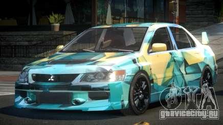 Mitsubishi Evo IX BS-U S8 для GTA 4
