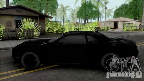 Dodge Challenger SRT Demon (Fast & Furious 8) для GTA San Andreas