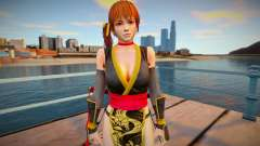 Dead Or Alive 5 - Kasumi (Costume 4) для GTA San Andreas