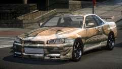 Nissan Skyline R34 PS-I S10 для GTA 4