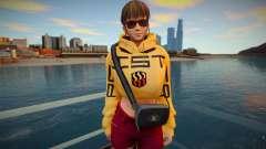 DOA Hitomi Fashion Casual DLC Los Santos Tuner 3 для GTA San Andreas