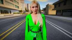 Helena Douglas v28 (good model) для GTA San Andreas