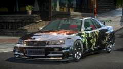 Nissan Skyline R34 G-Tuning S3 для GTA 4