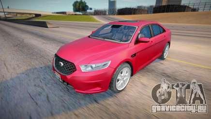 2013 Ford Taurus Civil (Low Poly) для GTA San Andreas