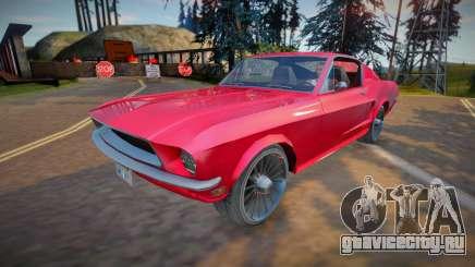 Ford Mustang Fastback 1968 (good model) для GTA San Andreas