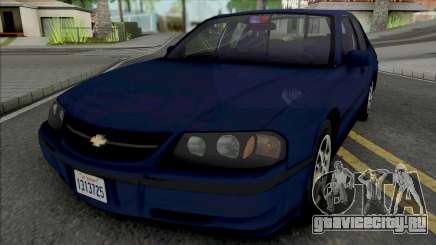 Chevrolet Impala 2000 LAPD Detective для GTA San Andreas