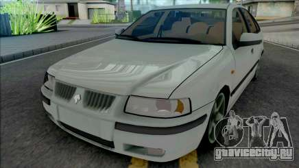 Ikco Samand LX White для GTA San Andreas