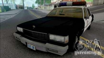 Chevrolet Caprice 1989 LAPD для GTA San Andreas