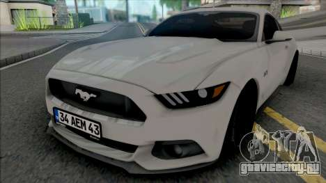 Ford Mustang 5.0 Fastback для GTA San Andreas