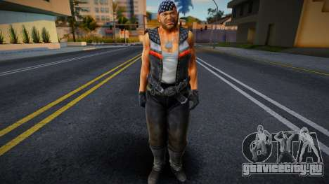 Dead Or Alive 5 - Bass Armstrong (Costume 1) 2 для GTA San Andreas