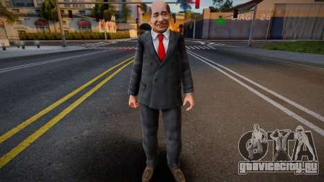 Dead Or Alive 5 - Train Man 4 для GTA San Andreas