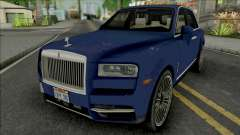 Rolls-Royce Cullinan 2018 (Chrome) для GTA San Andreas