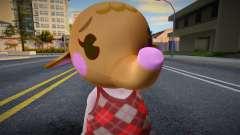 Ellie - Animal Crossing Elephant для GTA San Andreas