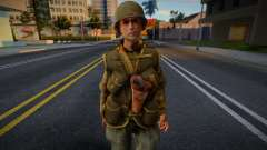 Call of Duty 2 American Soldiers 5 для GTA San Andreas