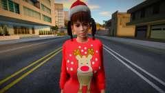 Lei Fang Christmas Special 1 для GTA San Andreas