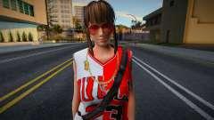 Hitomi Fashion Casual Chicago Bulls Jersey 3 для GTA San Andreas
