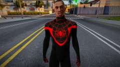 Miles Morales (without mask) для GTA San Andreas