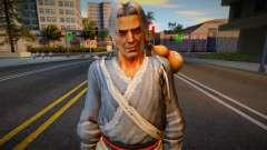 Dead Or Alive 5 - Brad Wong (Costume 1) v1 для GTA San Andreas