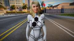 Fantastic 4: Invisible Woman Future Foundation для GTA San Andreas