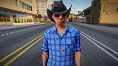 New Cwmofr Casual V1 Don Gilipollas Outfit Cou 2 для GTA San Andreas