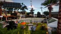 Grove Street new для GTA San Andreas