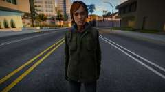 Ellie Williams (from TLOU 2) для GTA San Andreas